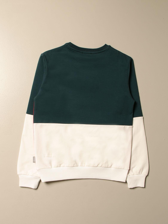 Sweater Australian: Australian bicolor crewneck sweatshirt military 2