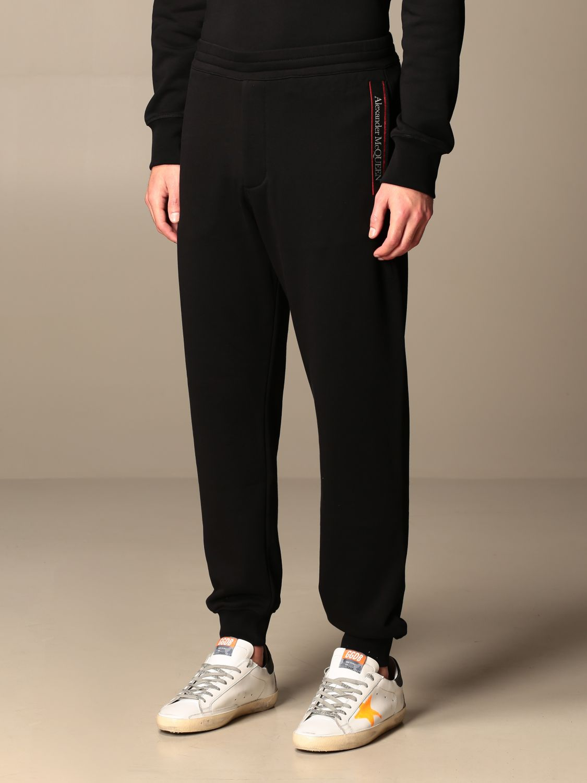 Trousers Alexander Mcqueen: Trousers men Alexander Mcqueen black 4