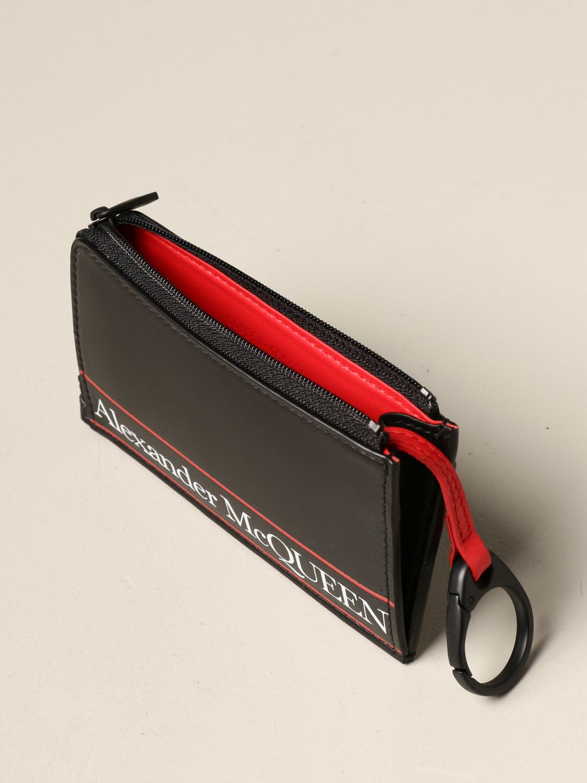 Wallet Alexander Mcqueen: Wallet men Alexander Mcqueen black 3