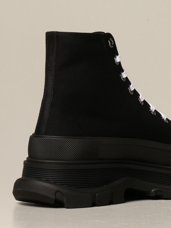 Sneakers Alexander Mcqueen: Sneakers Alexander McQueen in tela di cotone nero 3