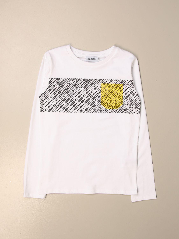 Camiseta Bikkembergs: Camiseta niños Bikkembergs blanco 1