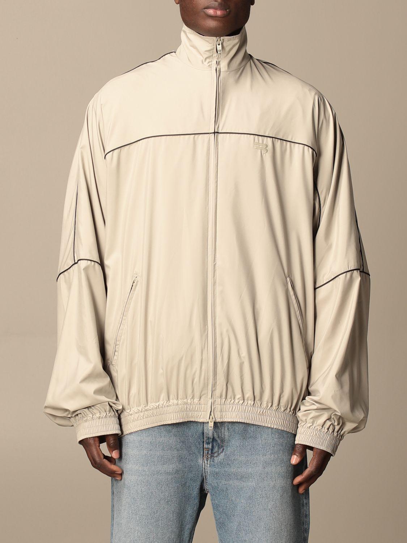 Sweatshirt Balenciaga: Over Balenciaga sweatshirt with zip 1