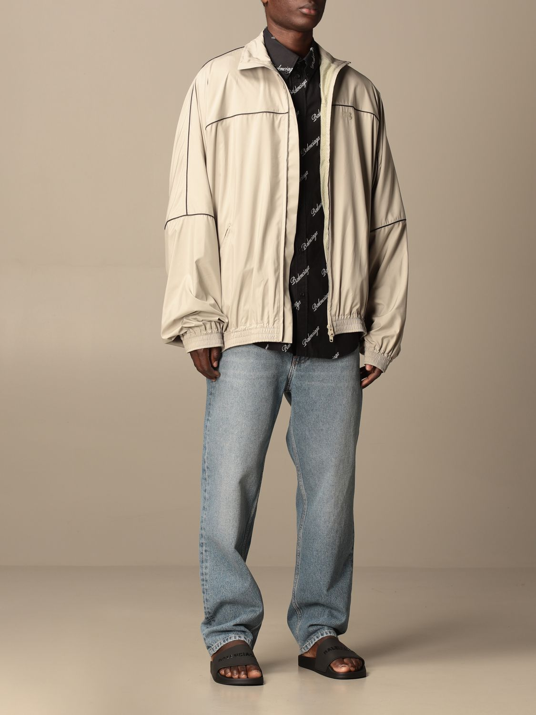 Sweatshirt Balenciaga: Over Balenciaga sweatshirt with zip 2