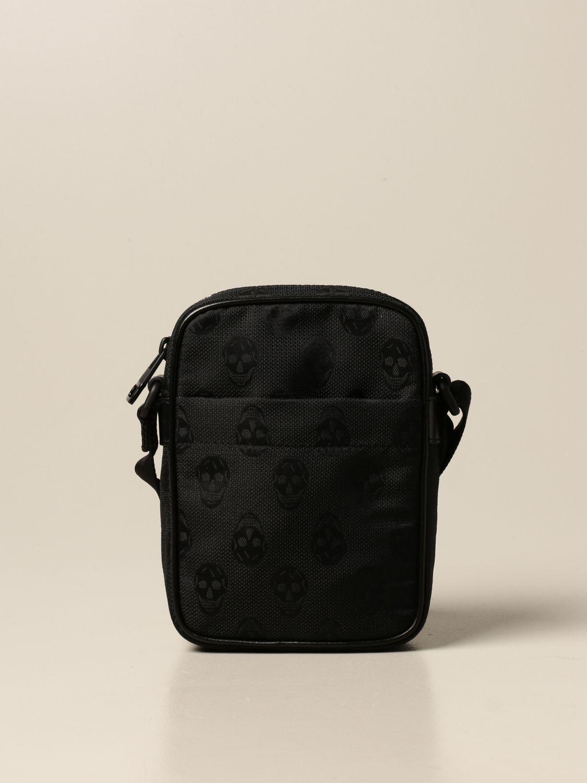 Shoulder bag Alexander Mcqueen: Alexander McQueen bag in fabric with skulls black 1