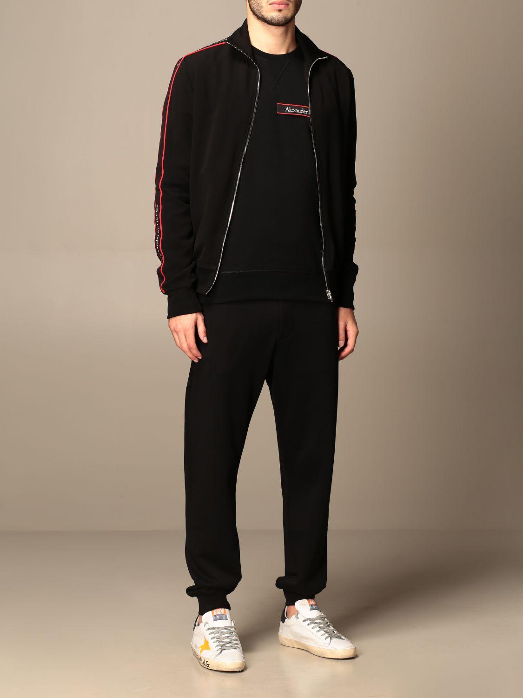 Sweatshirt Alexander Mcqueen: Sweatshirt men Alexander Mcqueen black 2