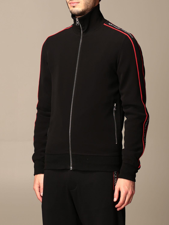 Sweatshirt Alexander Mcqueen: Sweatshirt men Alexander Mcqueen black 4