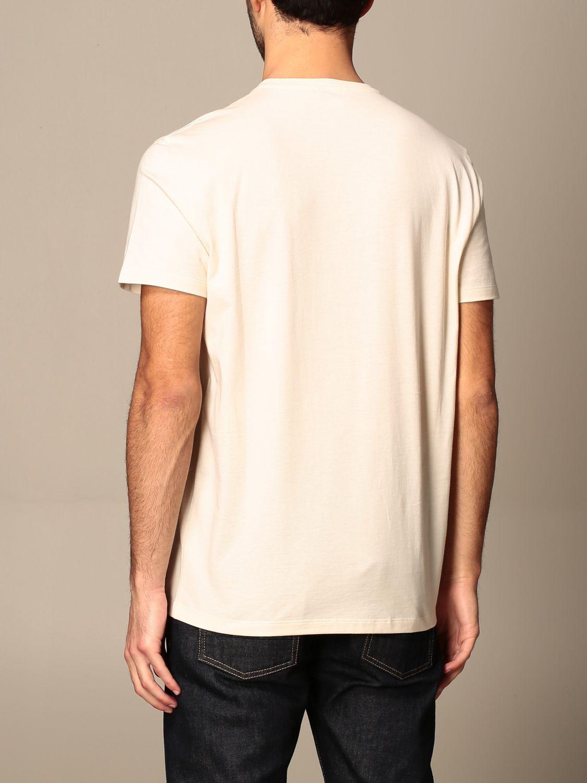 T-shirt Alexander Mcqueen: T-shirt men Alexander Mcqueen cream 3