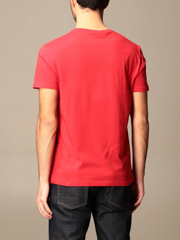 T-shirt Alexander Mcqueen: T-shirt Alexander McQueen in cotone con stampa verde 3