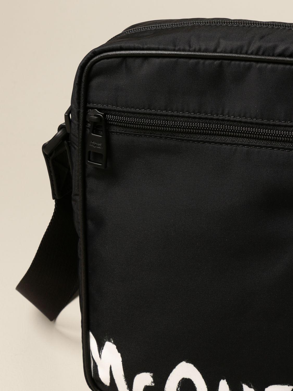 Borsa a tracolla Alexander Mcqueen: Borsello Alexander McQueen in nylon nero 4