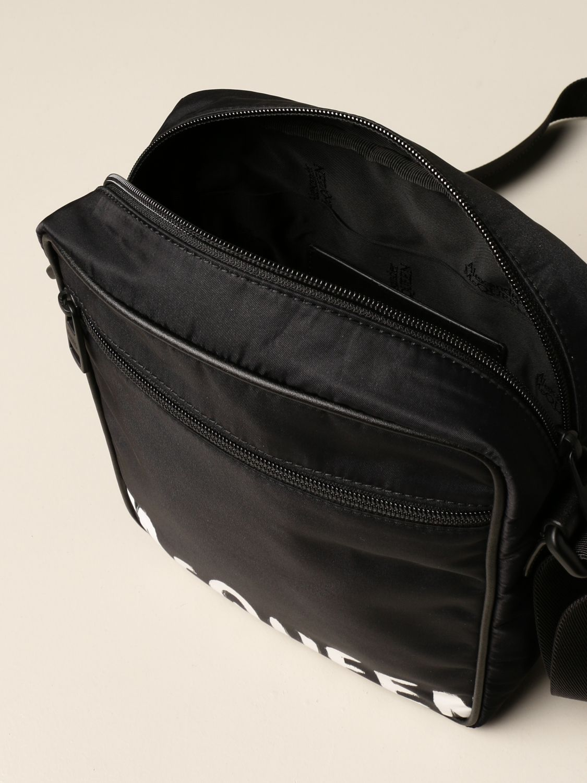 Borsa a tracolla Alexander Mcqueen: Borsello Alexander McQueen in nylon nero 5