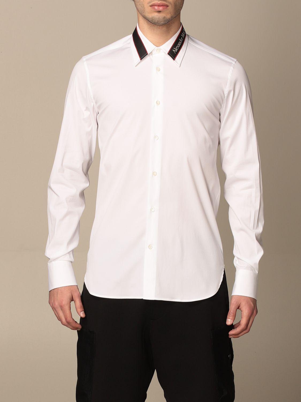 Camicia Alexander Mcqueen: Camicia Alexander McQueen con logo bianco 1