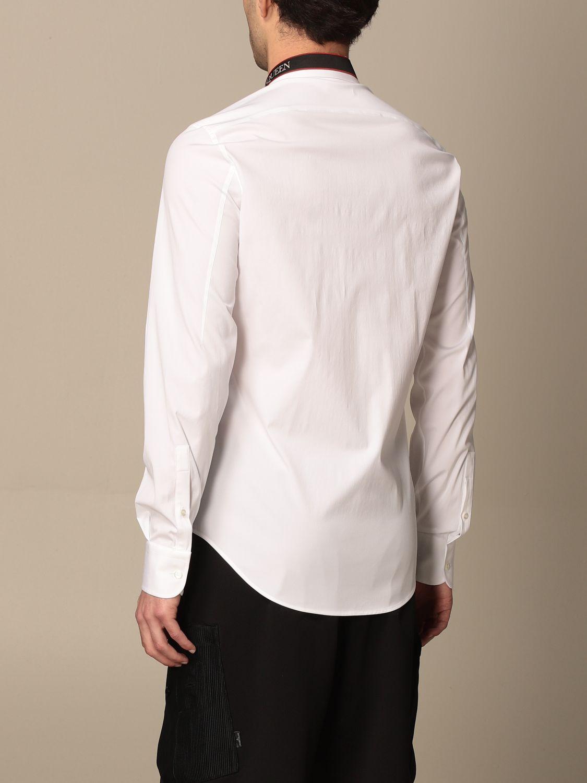 Camicia Alexander Mcqueen: Camicia Alexander McQueen con logo bianco 3