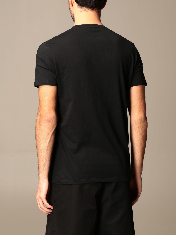 T-shirt Alexander Mcqueen: Polo homme Alexander Mcqueen noir 3