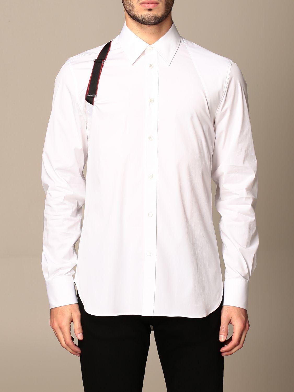 Shirt Alexander Mcqueen: Shirt men Alexander Mcqueen white 1
