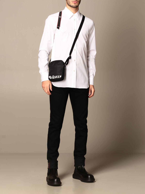 Shirt Alexander Mcqueen: Shirt men Alexander Mcqueen white 2