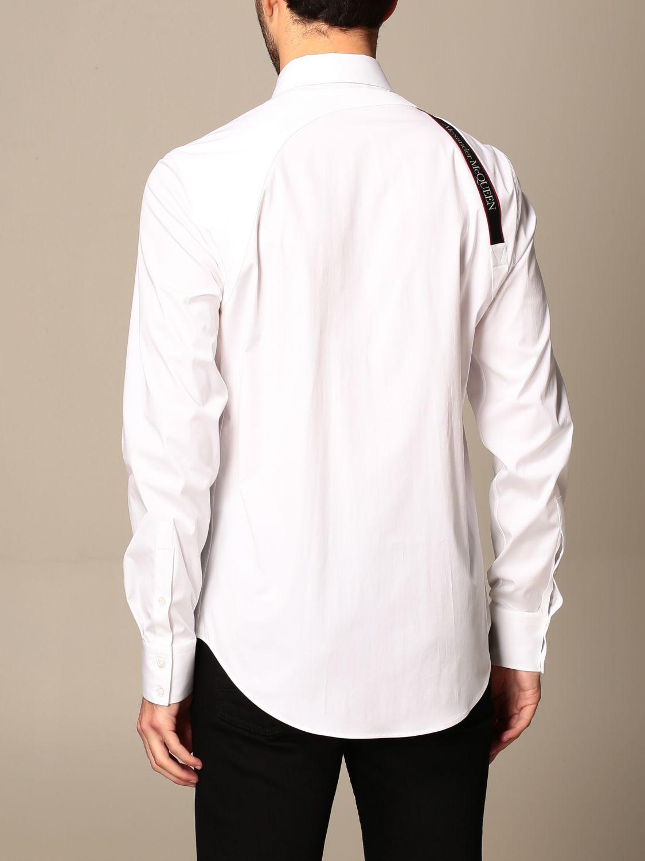 Shirt Alexander Mcqueen: Shirt men Alexander Mcqueen white 3