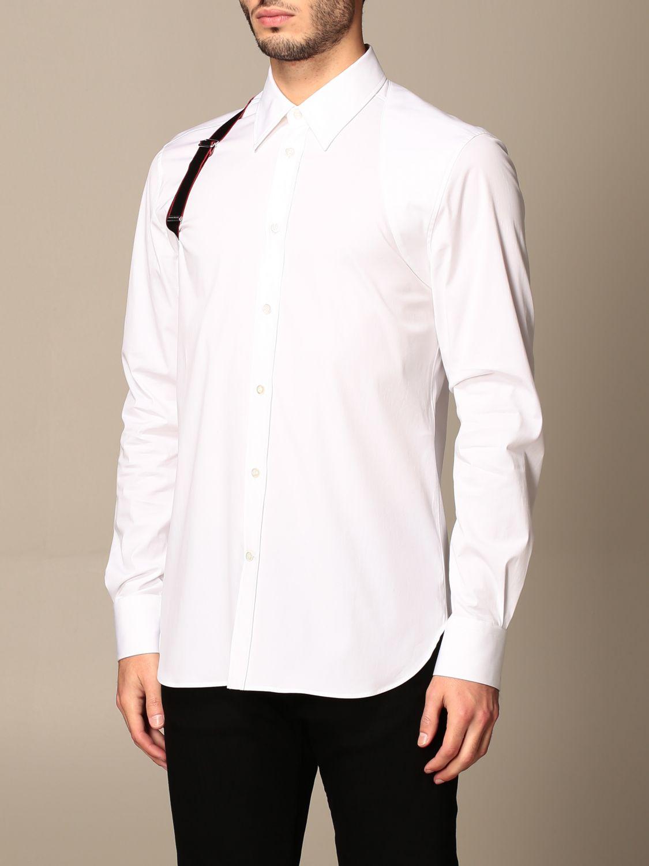 Shirt Alexander Mcqueen: Shirt men Alexander Mcqueen white 4