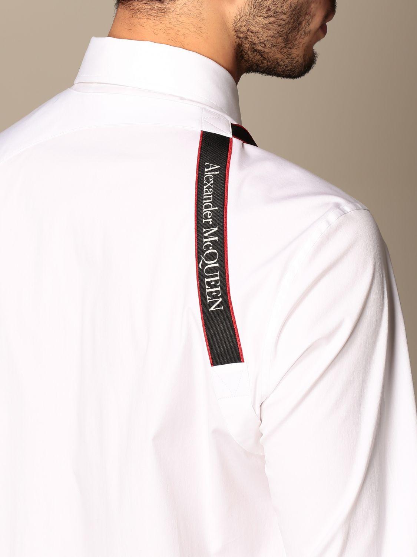 Shirt Alexander Mcqueen: Shirt men Alexander Mcqueen white 5
