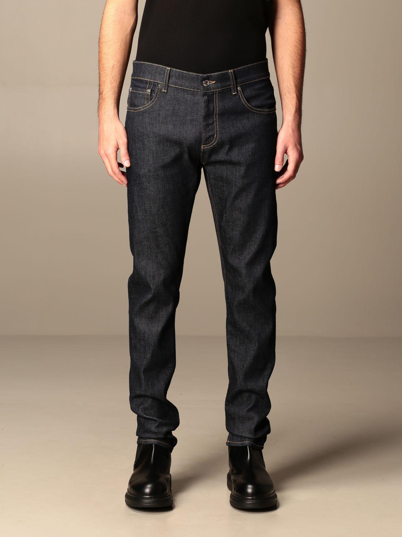 Trousers Alexander Mcqueen: Trousers men Alexander Mcqueen blue 1