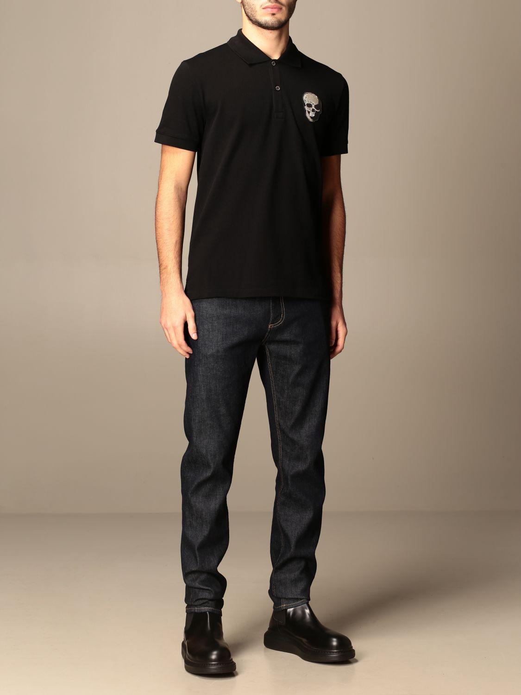 Trousers Alexander Mcqueen: Trousers men Alexander Mcqueen blue 2