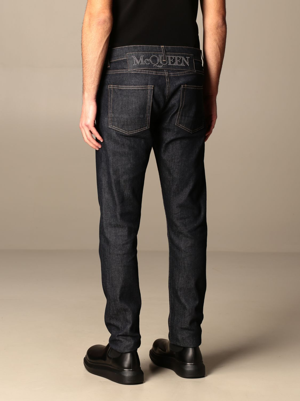 Trousers Alexander Mcqueen: Trousers men Alexander Mcqueen blue 3