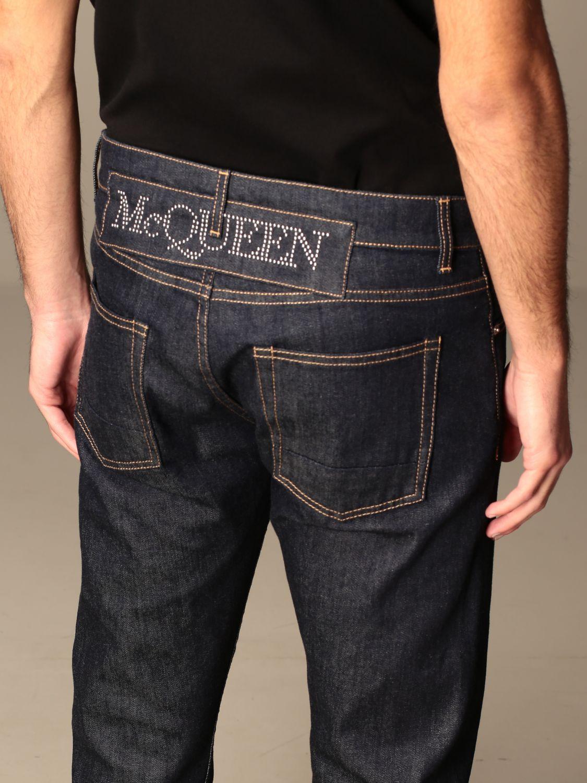 Trousers Alexander Mcqueen: Trousers men Alexander Mcqueen blue 5