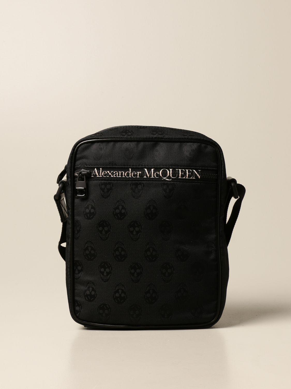 Sacoche Alexander Mcqueen: Sacoche homme Alexander Mcqueen noir 1