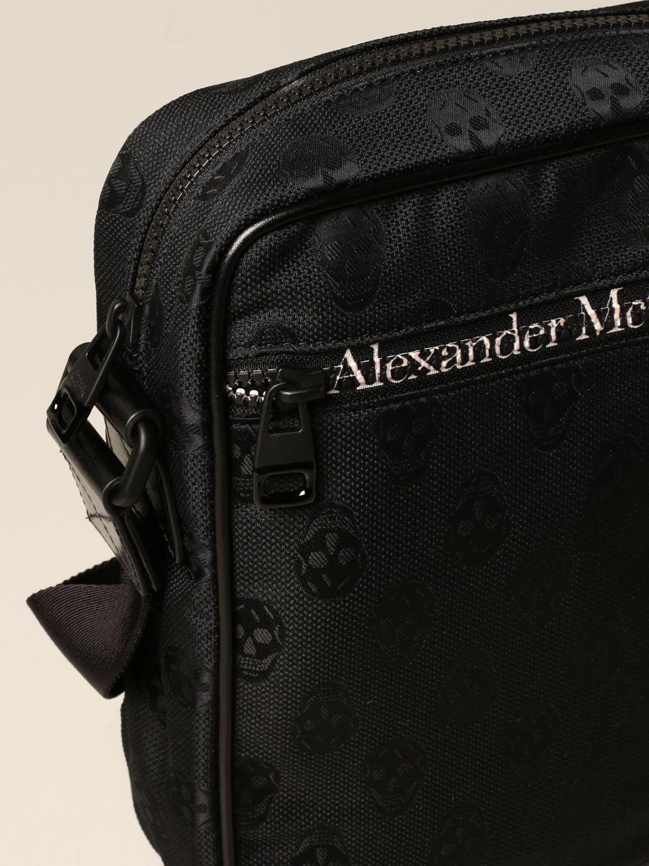 Sacoche Alexander Mcqueen: Sacoche homme Alexander Mcqueen noir 4