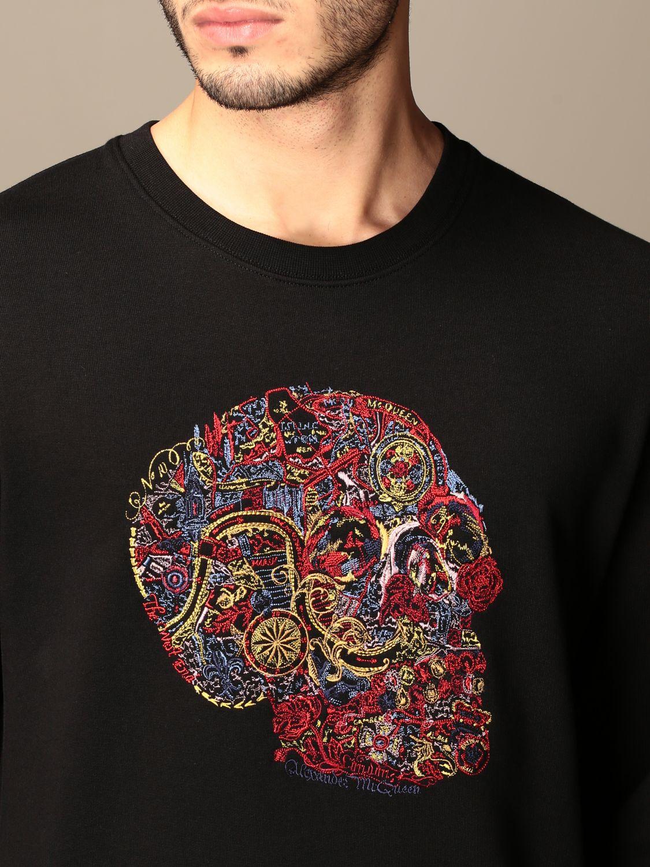 Sweatshirt Alexander Mcqueen: Sweatshirt men Alexander Mcqueen black 5
