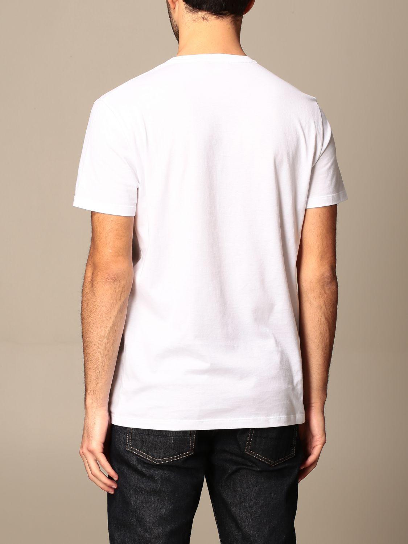 T-shirt Alexander Mcqueen: T-shirt Alexander McQueen in cotone con teschio bianco 3