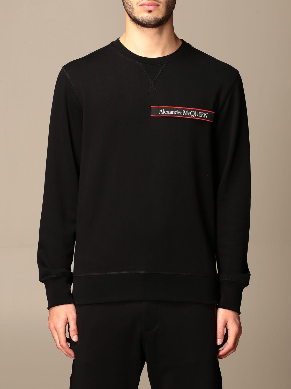 Sweatshirt Alexander Mcqueen: Sweatshirt men Alexander Mcqueen black 1