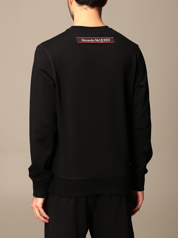 Sweatshirt Alexander Mcqueen: Sweatshirt men Alexander Mcqueen black 3
