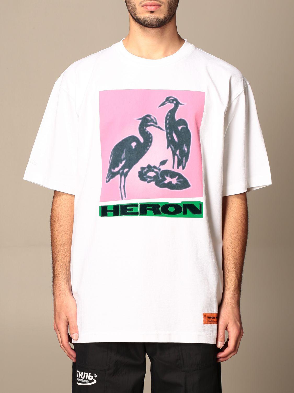 Camiseta Heron Preston: Camiseta hombre Heron Preston blanco 1