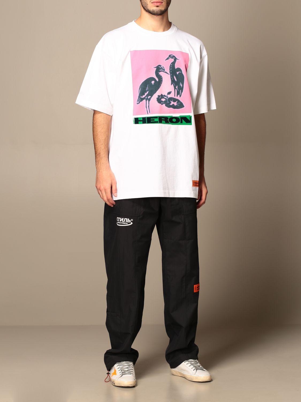 Camiseta Heron Preston: Camiseta hombre Heron Preston blanco 2