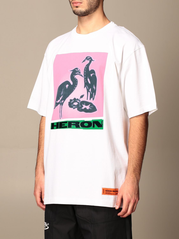 Camiseta Heron Preston: Camiseta hombre Heron Preston blanco 4