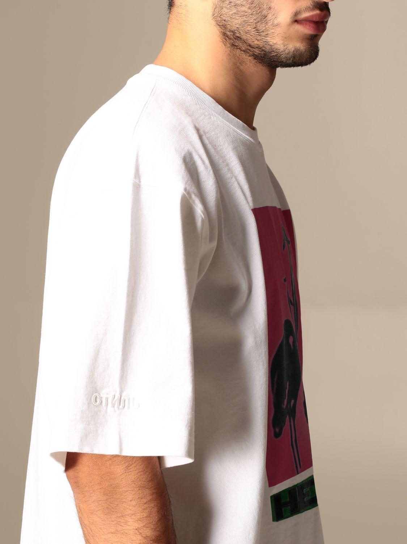 Camiseta Heron Preston: Camiseta hombre Heron Preston blanco 5