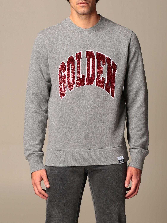 Sweatshirt Golden Goose: Sweatshirt homme Golden Goose gris 1