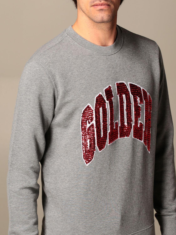 Sweatshirt Golden Goose: Sweatshirt homme Golden Goose gris 4