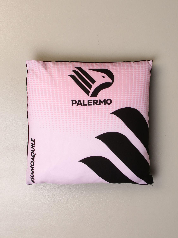 Accessori Palermo: Cuscino Palermo con stemma aquila rosa 1