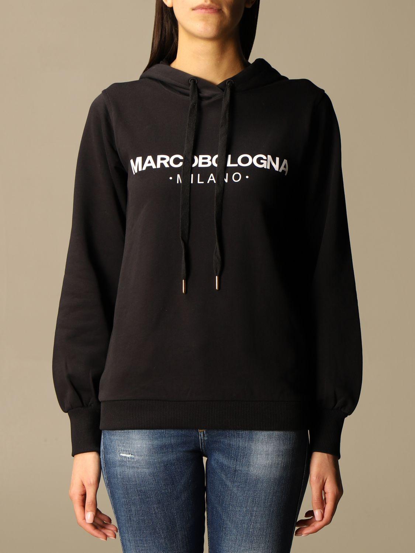 卫衣 Marco Bologna: 卫衣 女士 Marco Bologna 黑色 1