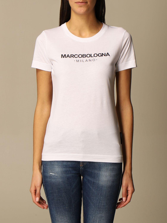 T恤 Marco Bologna: T恤 女士 Marco Bologna 白色 1