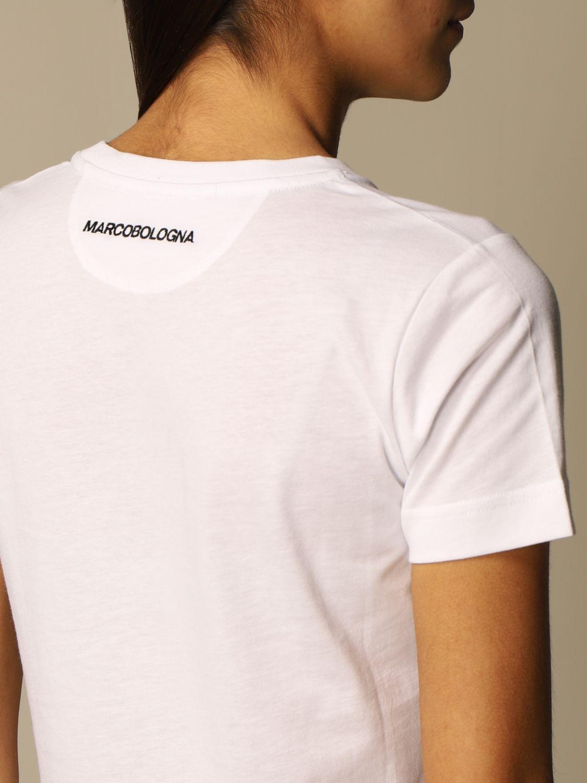 T恤 Marco Bologna: T恤 女士 Marco Bologna 白色 3