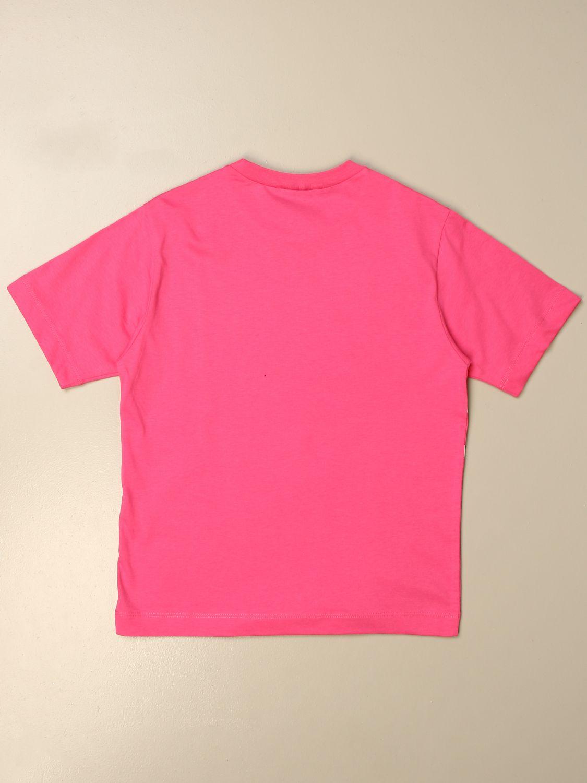 Футболка N° 21: Футболка Детское N° 21 розовый 2