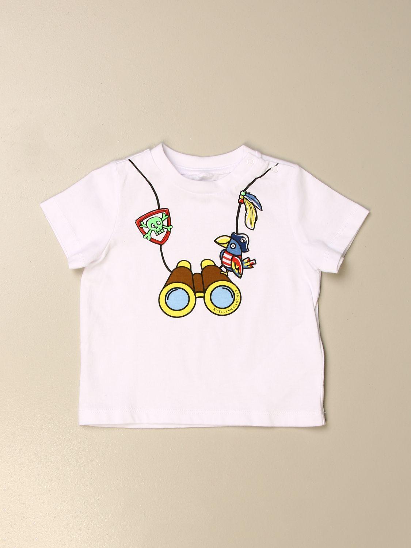 T-shirt Stella Mccartney: Stella McCartney T-shirt with front print white 1