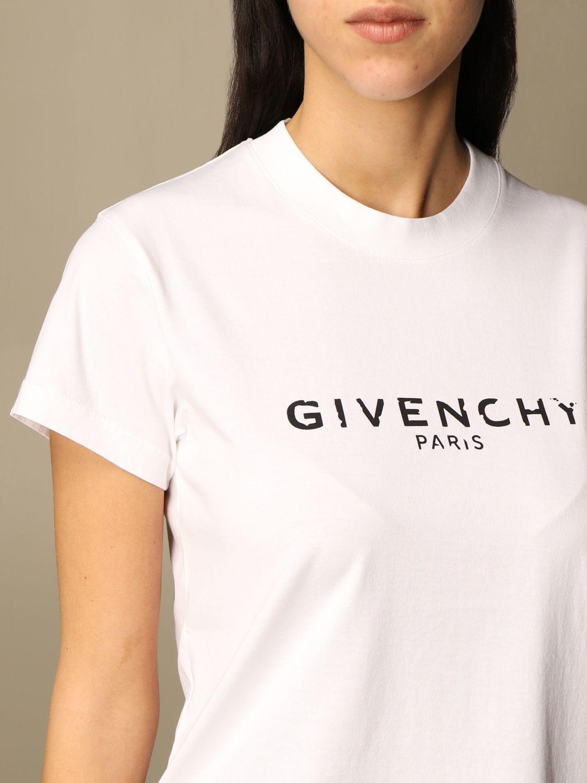 GIVENCHY T shirt damen   T Shirt Givenchy Damen Weiß   T Shirt ...