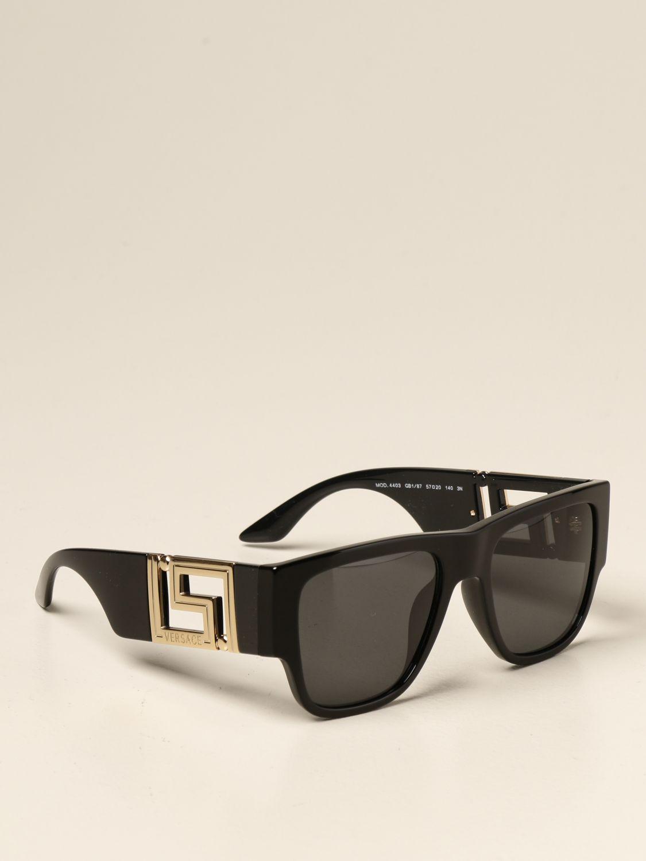 Солнцезащитные очки Versace: Солнцезащитные очки Мужское Versace черный 1