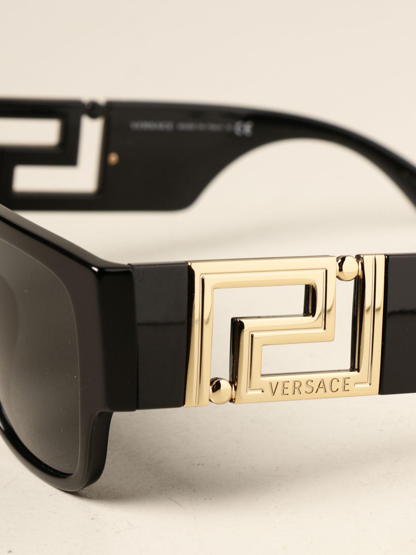 Солнцезащитные очки Versace: Солнцезащитные очки Мужское Versace черный 4