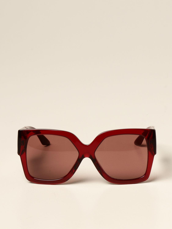 Occhiali Versace: Occhiali da sole Versace in acetato bordeaux 2