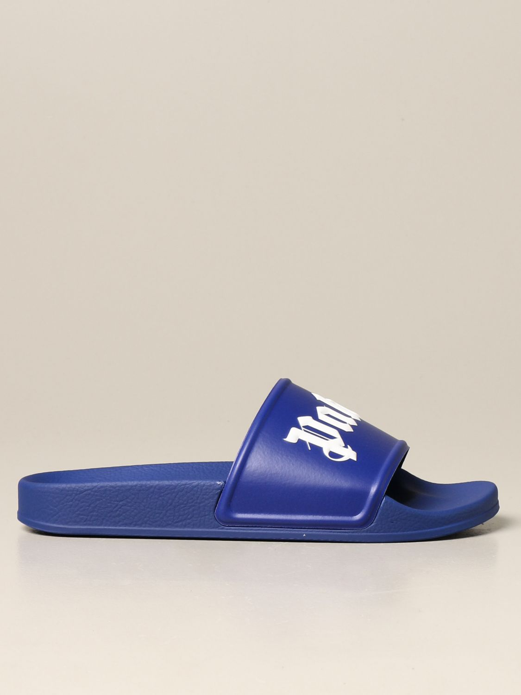 Sandals Palm Angels: Palm Angels rubber sandal violet 1
