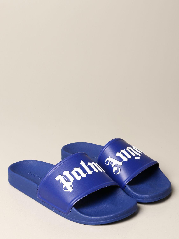 Sandals Palm Angels: Palm Angels rubber sandal violet 2